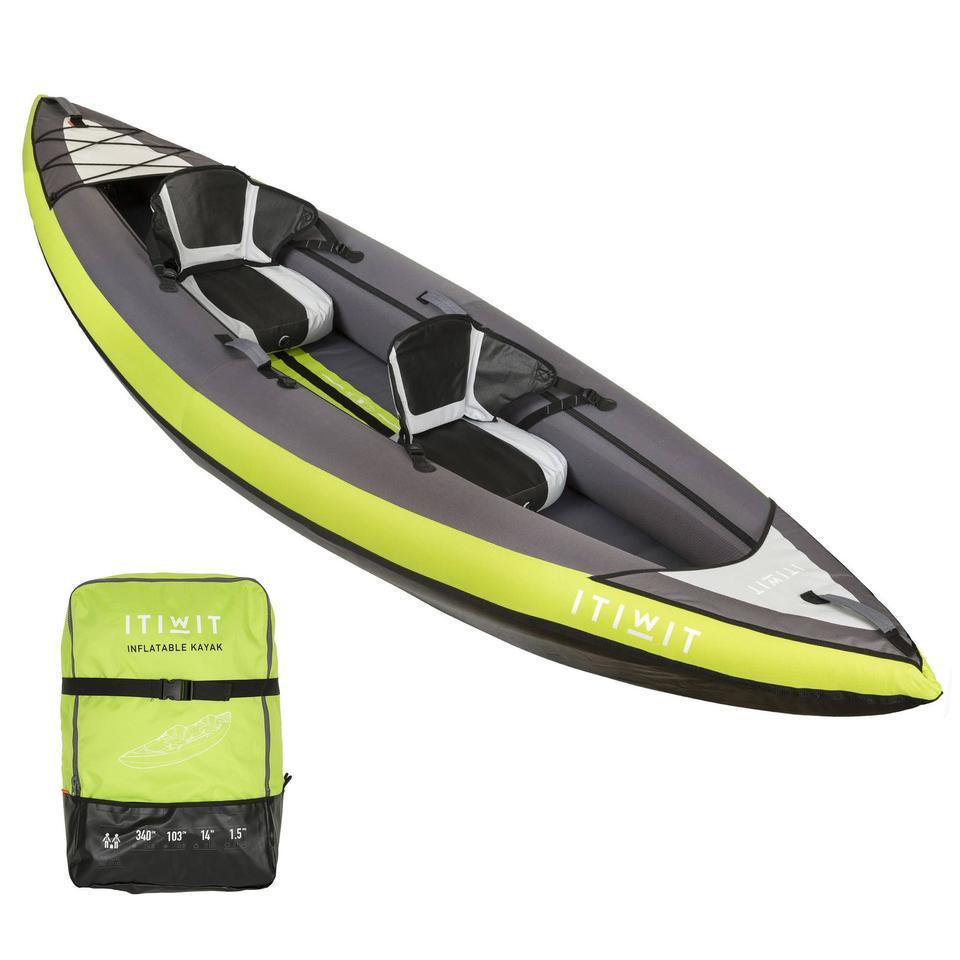 kayak pas cher decathlon 2 places
