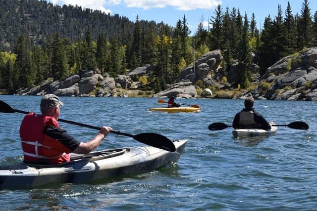 type kayak